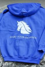 HVP Kinder vest  Hart voor Paarden - lichtblauw