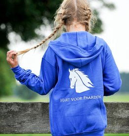 HVP Kindervest Hart voor Paarden  lichtblauw