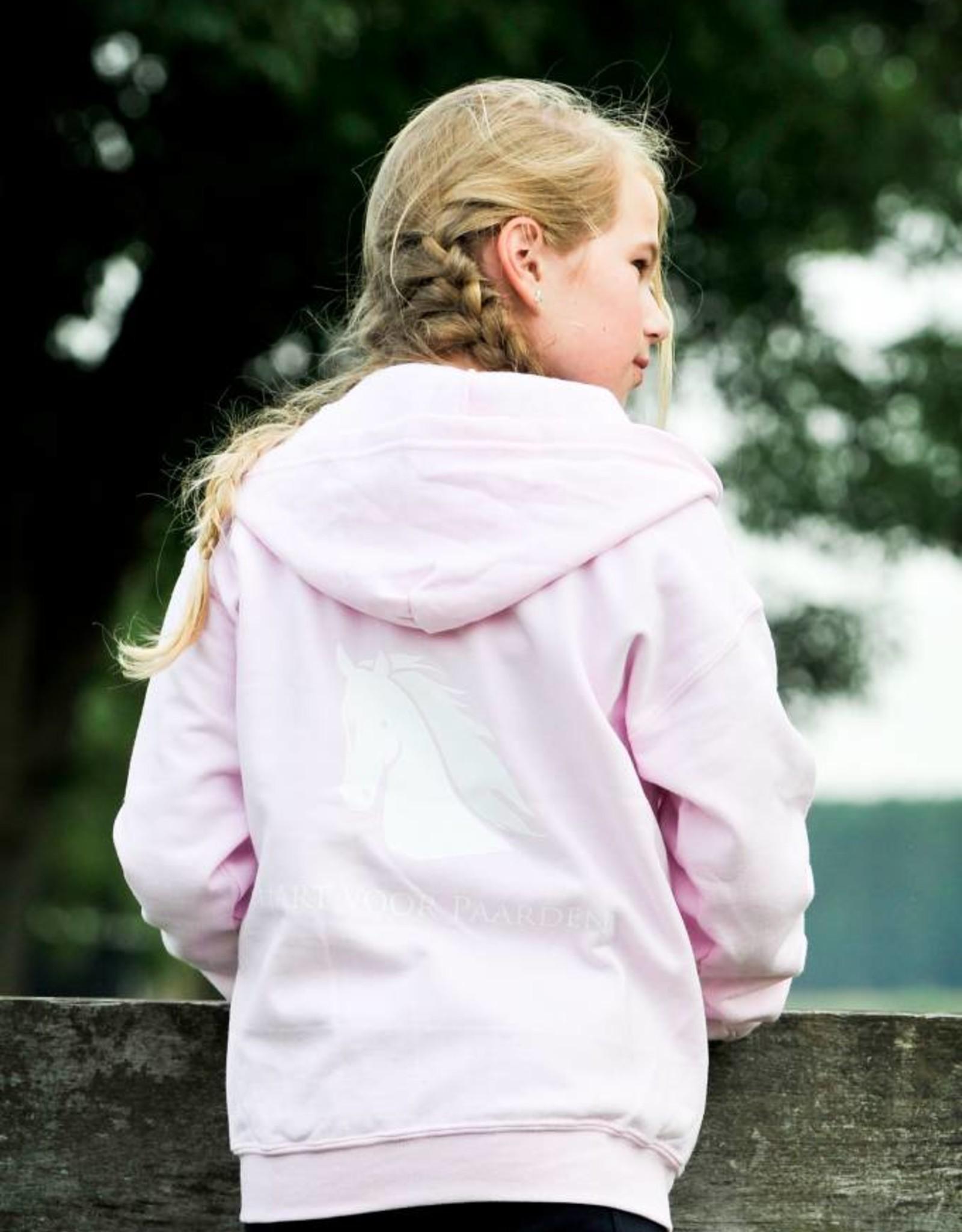 HVP Kindervest  Hart voor Paarden - roze