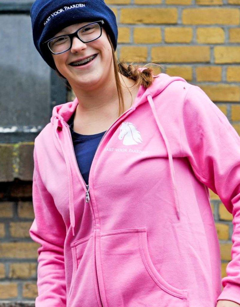 HVP Damesvest Hart voor Paarden -roze