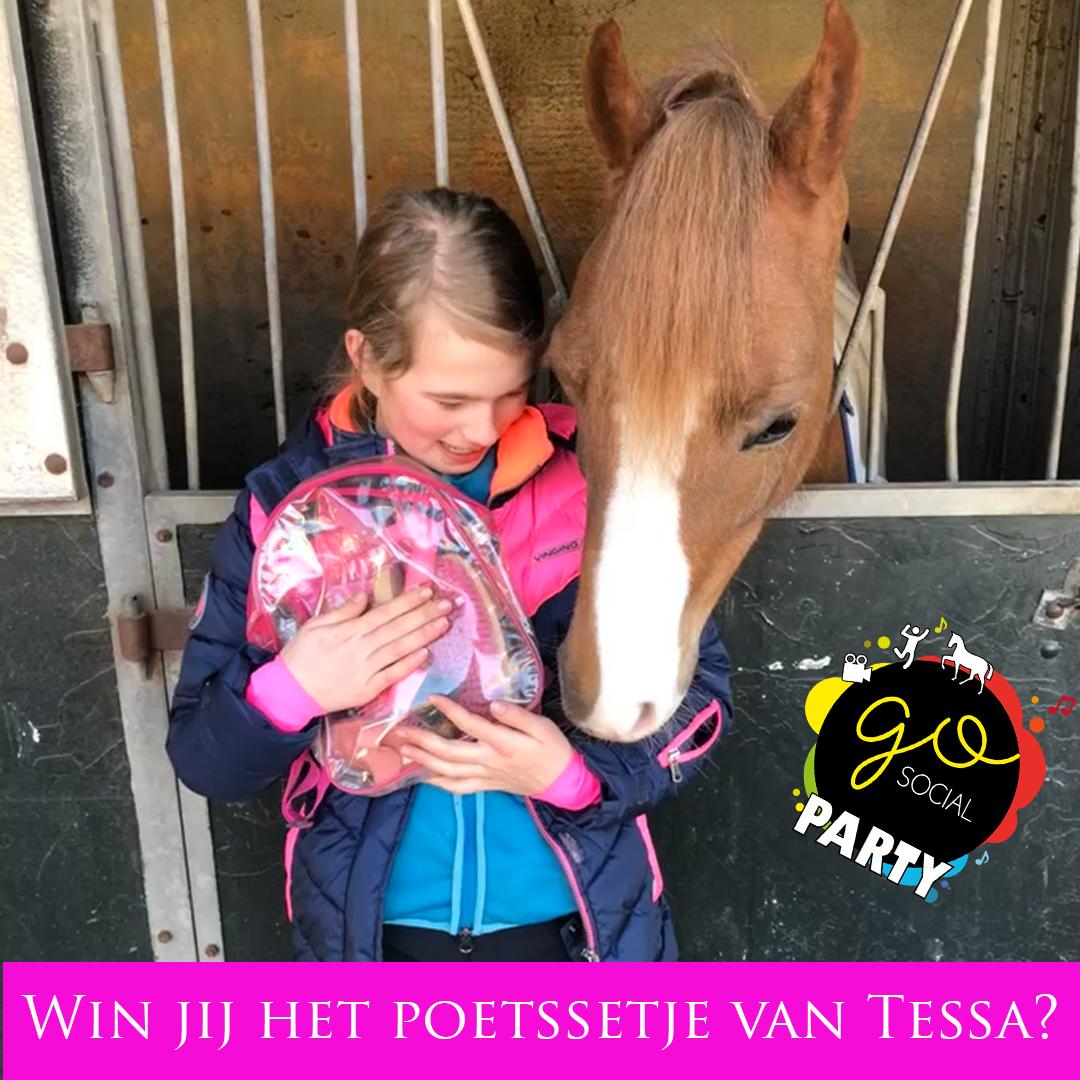 winactie hart voor paarden tijdens de go social party