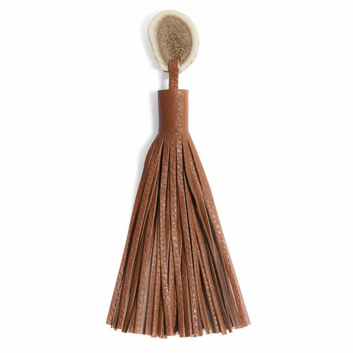 TASSEL ANTLER LION BROWN