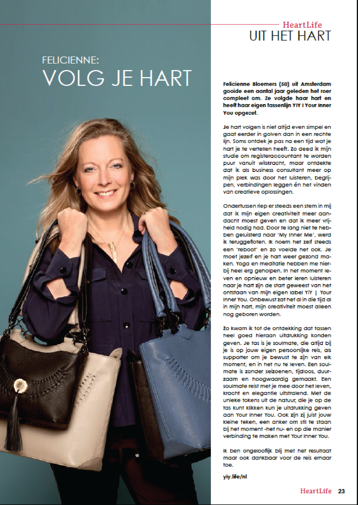 Interview Heartlife Magazine