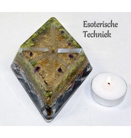 Orgonite in ruitvorm