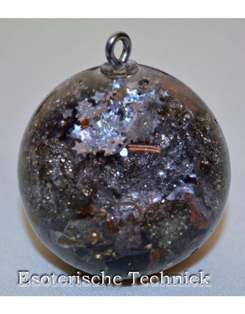 Orgone orgonite bol met diverse mineralen