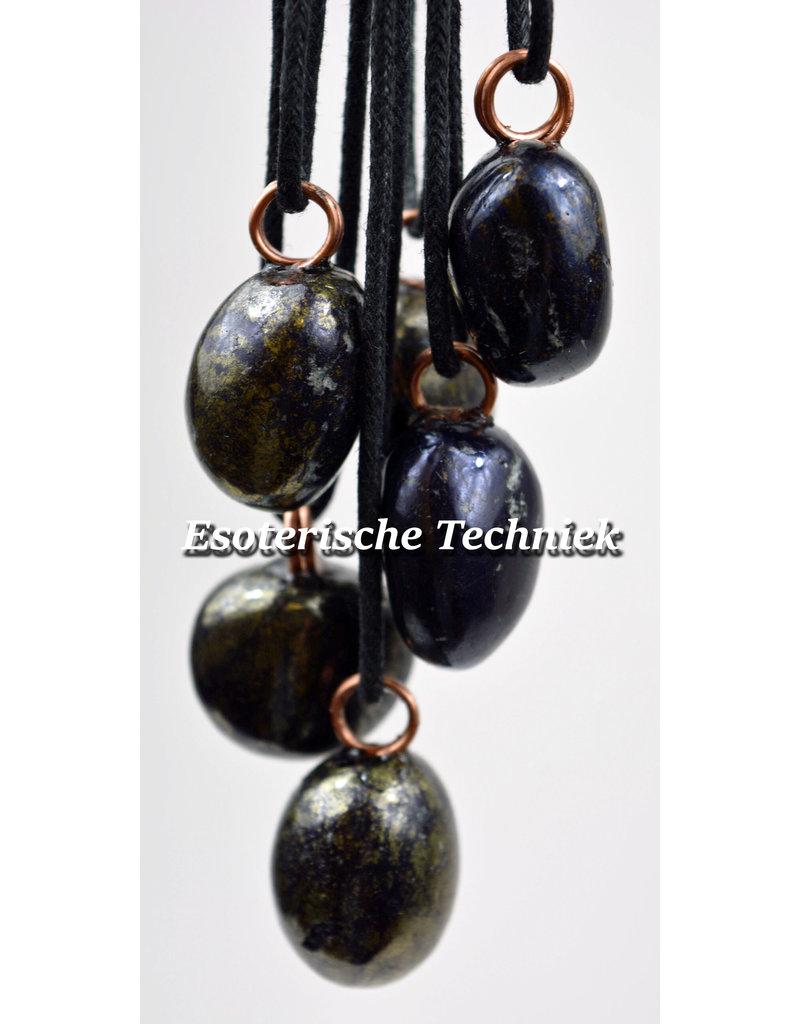 Orgone orgonite hanger Covelliet bescherming tegen elektromagnetische straling.