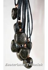 Orgone orgonite hanger Lemurische Jade bescherming tegen elektromagnetische straling.