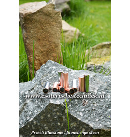 Orgone orgonite Traveler met Preseli Bluestone (Stonehenge steen)