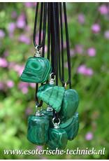 Orgone orgonite hanger Malachiet, persoonlijke bescherming tegen schadelijke straling