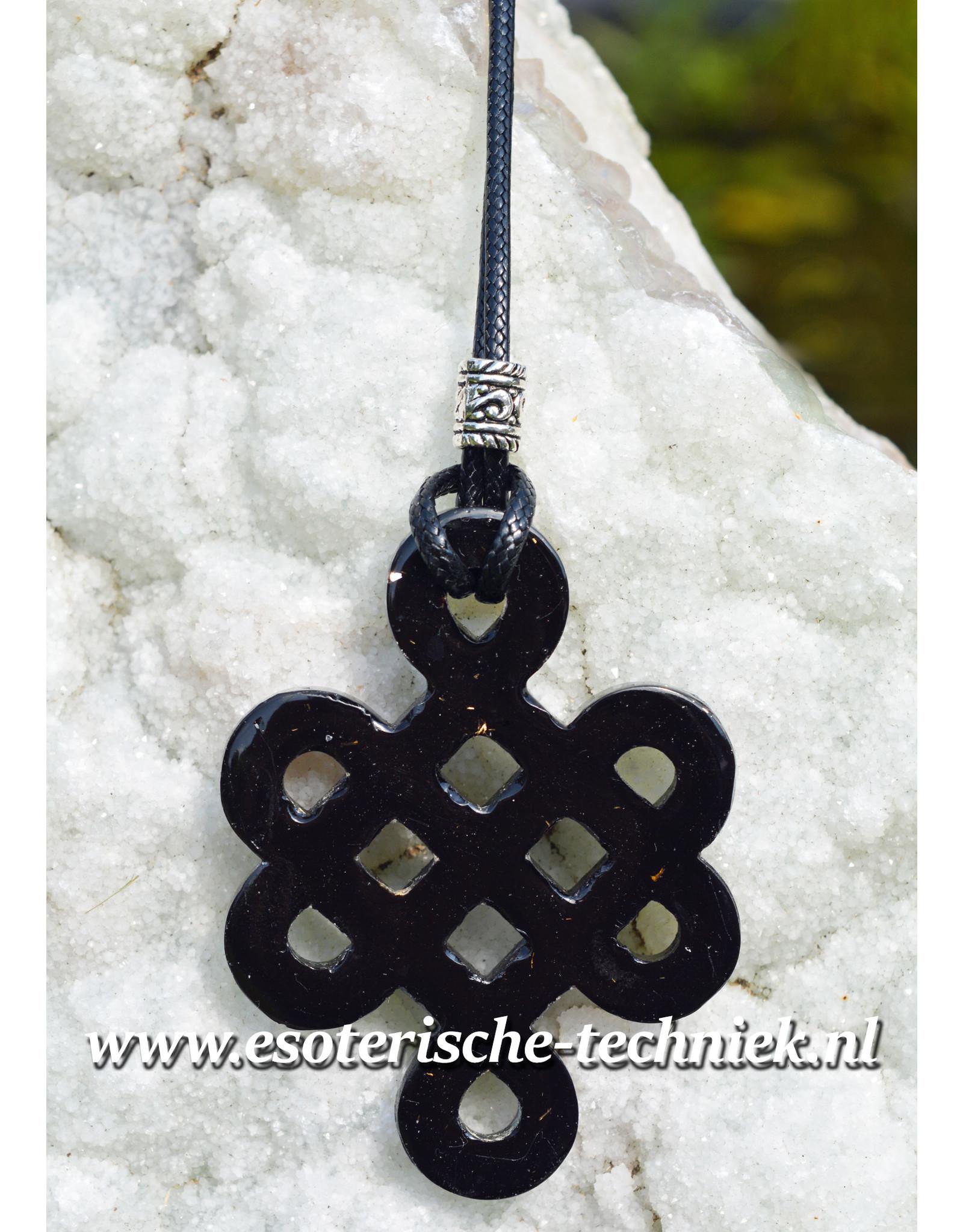 Orgone Orgonite hanger Keltische oneindigheids knoop Preseli Bluestone