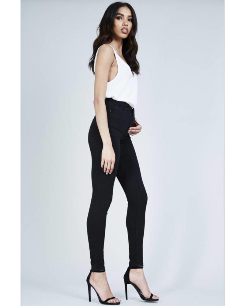 Helena high waisted soft skinny jeans