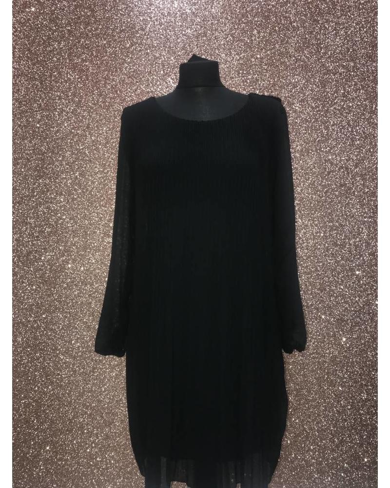 Chelsea Chiffon Pleated Dress