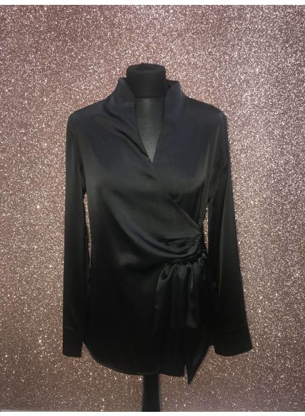 Flash Skye Silk Long Sleeve Blouse