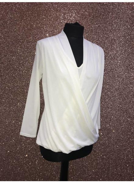 Dee Dee draped blouse
