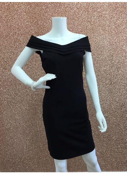 Amanda Bardot dress Black