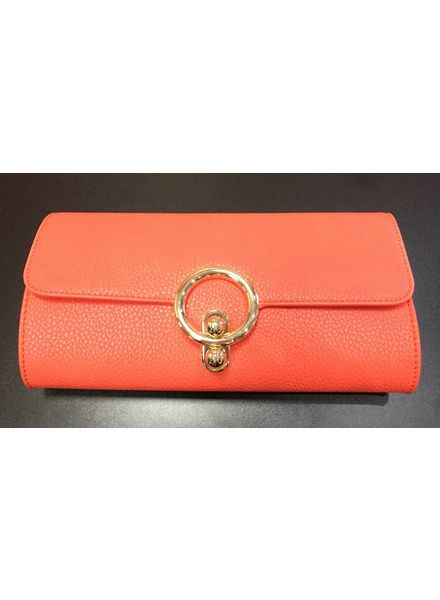 Flash Circular Clasp Clutch