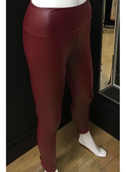 Flash Sheena Shiny Leather Look Leggings