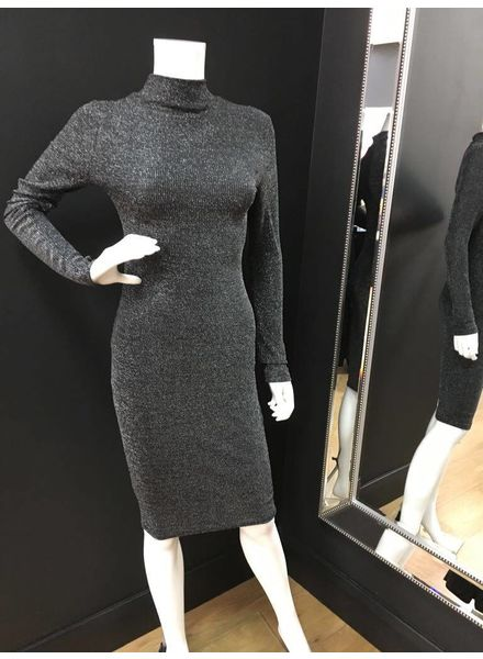 Lucy Lurex Long Sleeve Bodycon Dress
