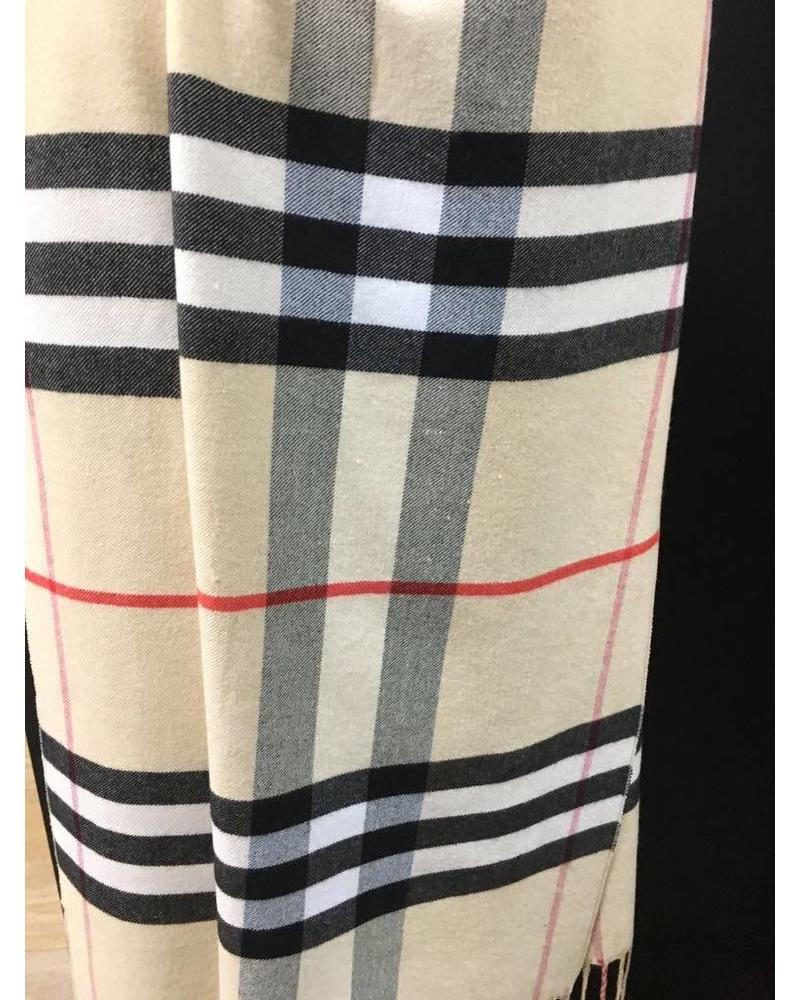 Classic Check Scarf