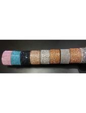 Diamanté Cuff Bracelet - Wide