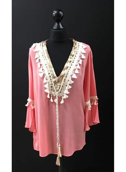 Flash Cheyenne tassel top