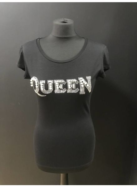 Flash Queen Pearl & Diamante embellished TShirts