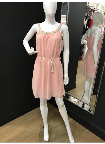 Flash Paige chiffon dress