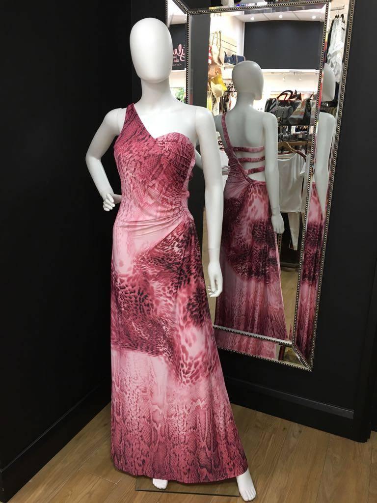 6874d8198eec Snakeskin print Maxi Dress - Mi Chica Boutique - Mi Chica Boutique ...