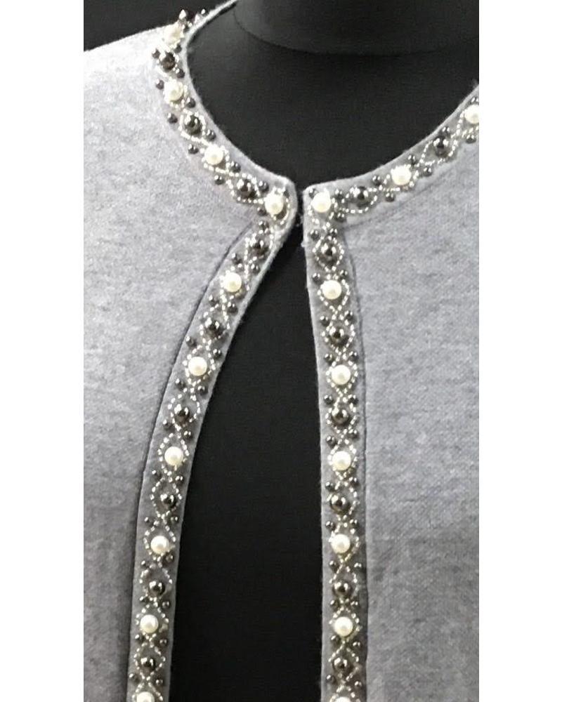Danielle pearl & Diamanté cardigan
