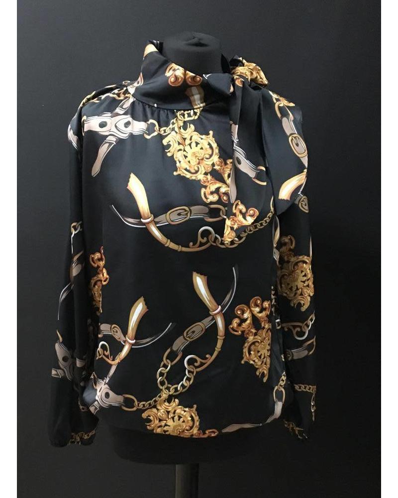 Sierra silk blouse