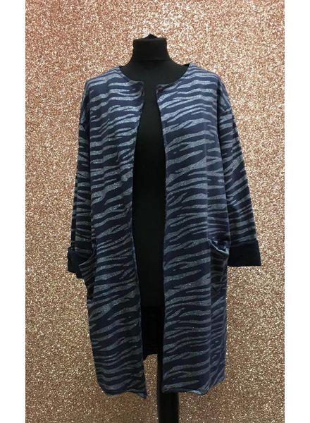 Gabrielle Glitter Zebra Jacket