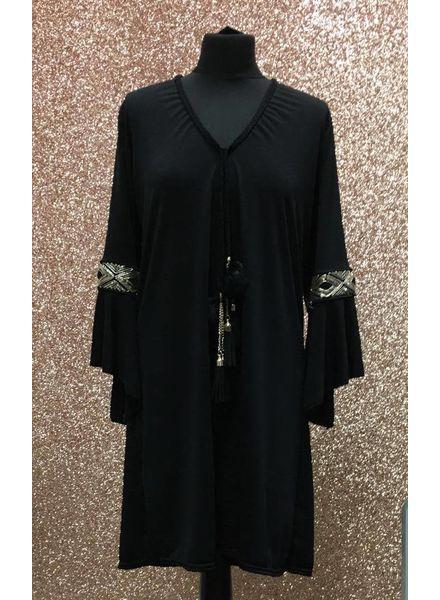 Cheyenne Gold tassel dress