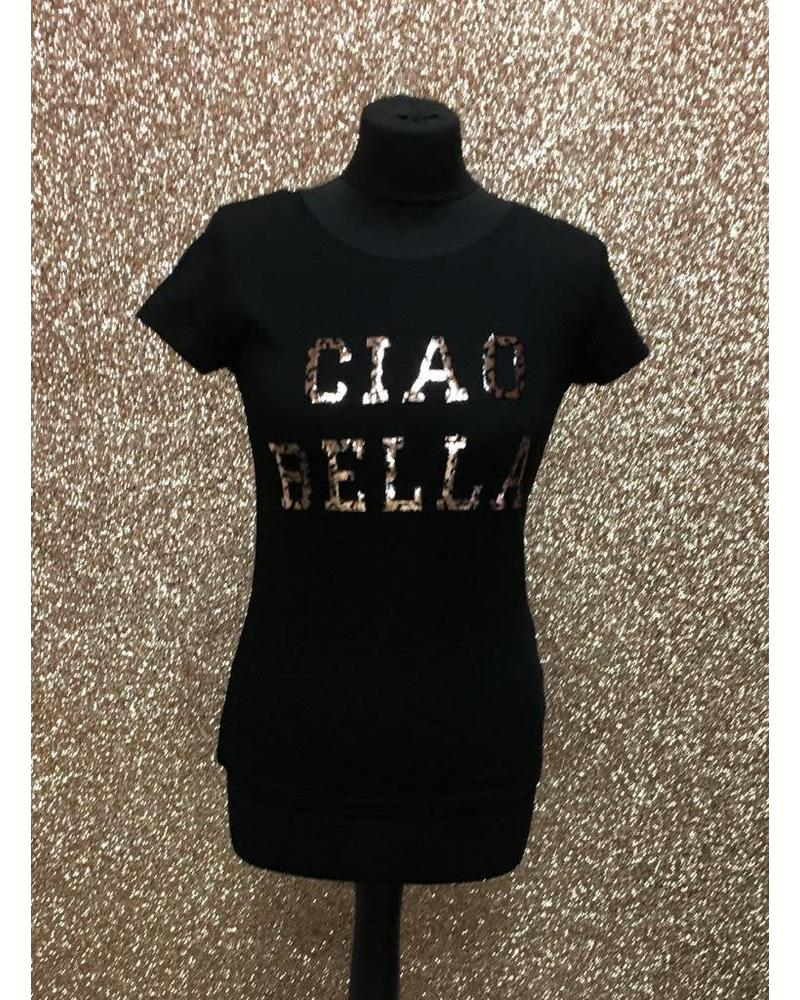 Ciao Bella Slogan T-Shirt