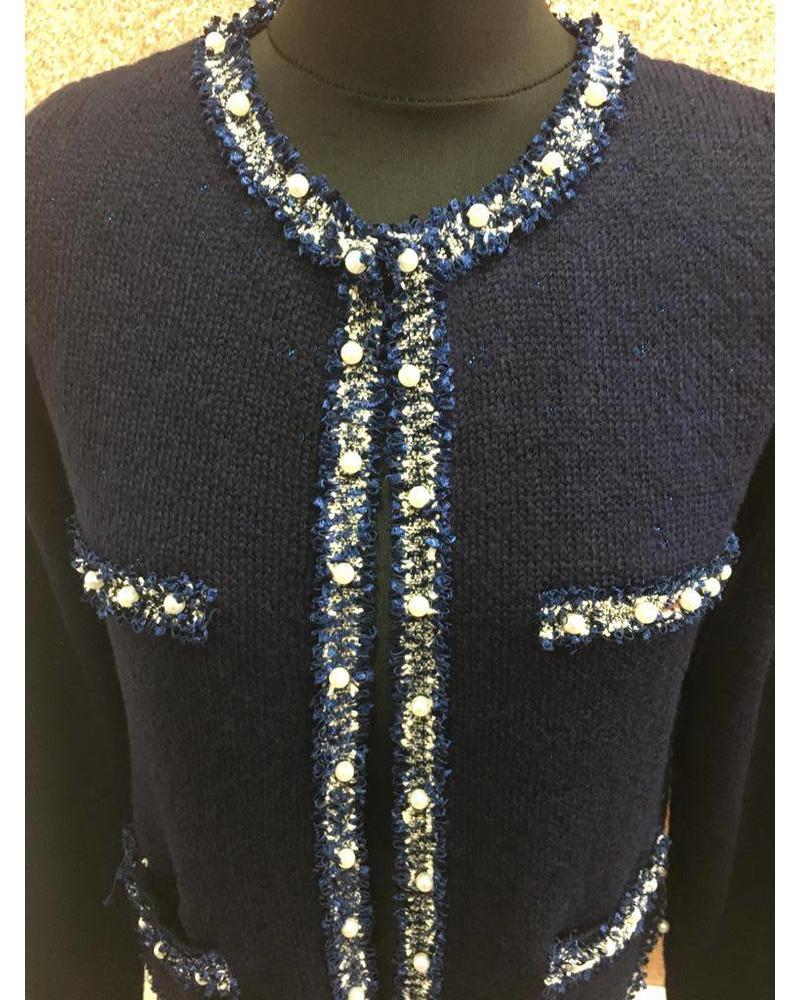 Coco Pearl trim jacket