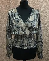 Sierra crossover blouse