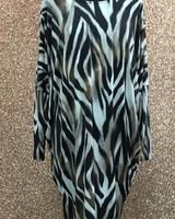 Nala scoop back long sleeve dress