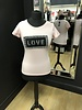 LOVE tweed style T-Shirt