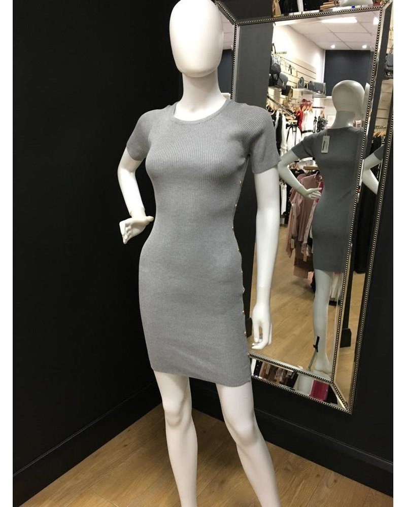 Giorgia Gold button dress