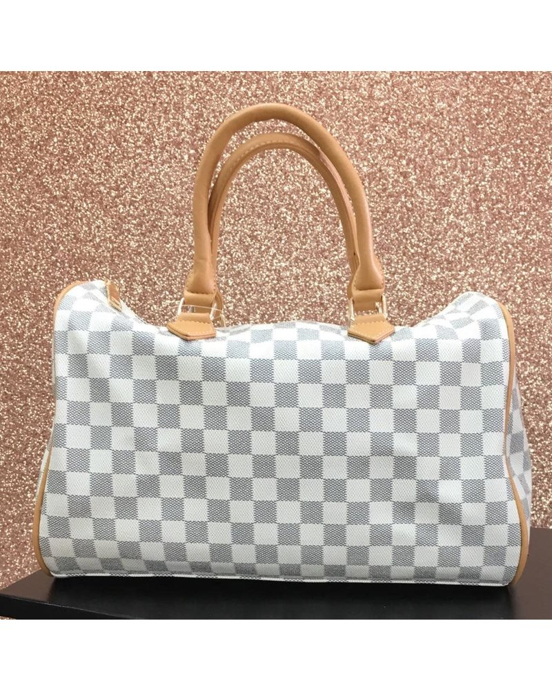 Luciana barrel style bag