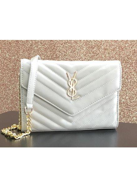 Eve soft chevron bag