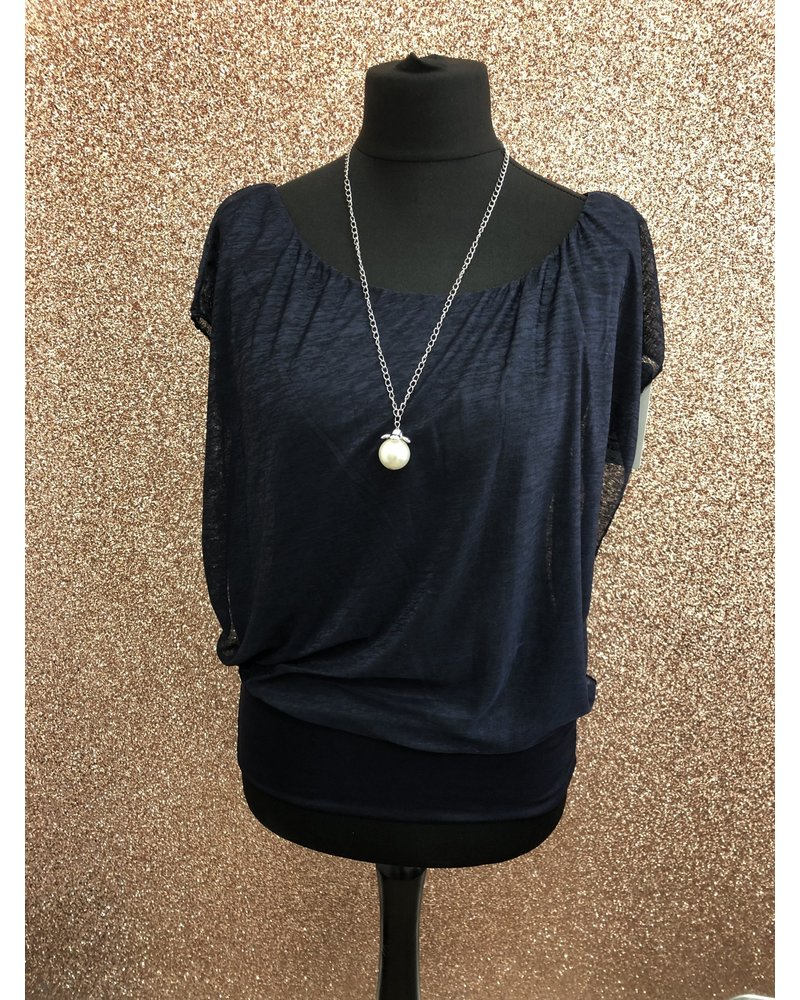 Lone Ranger necklace top - Sleeveless