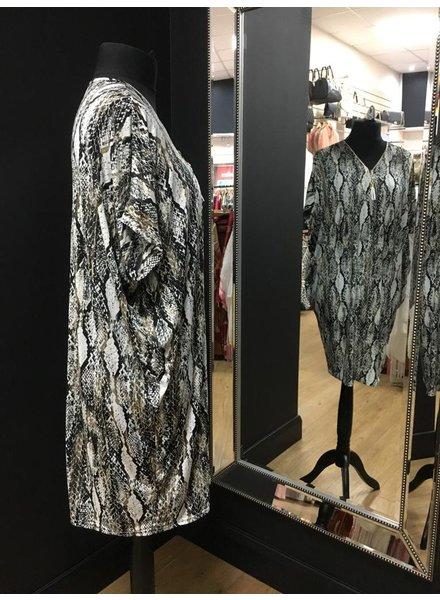 Viennna half zip dress