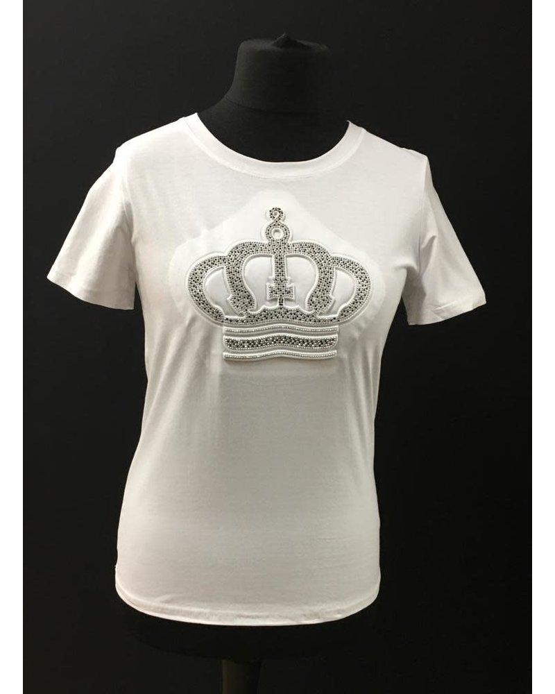 Alice Diamanté Crown T-Shirt