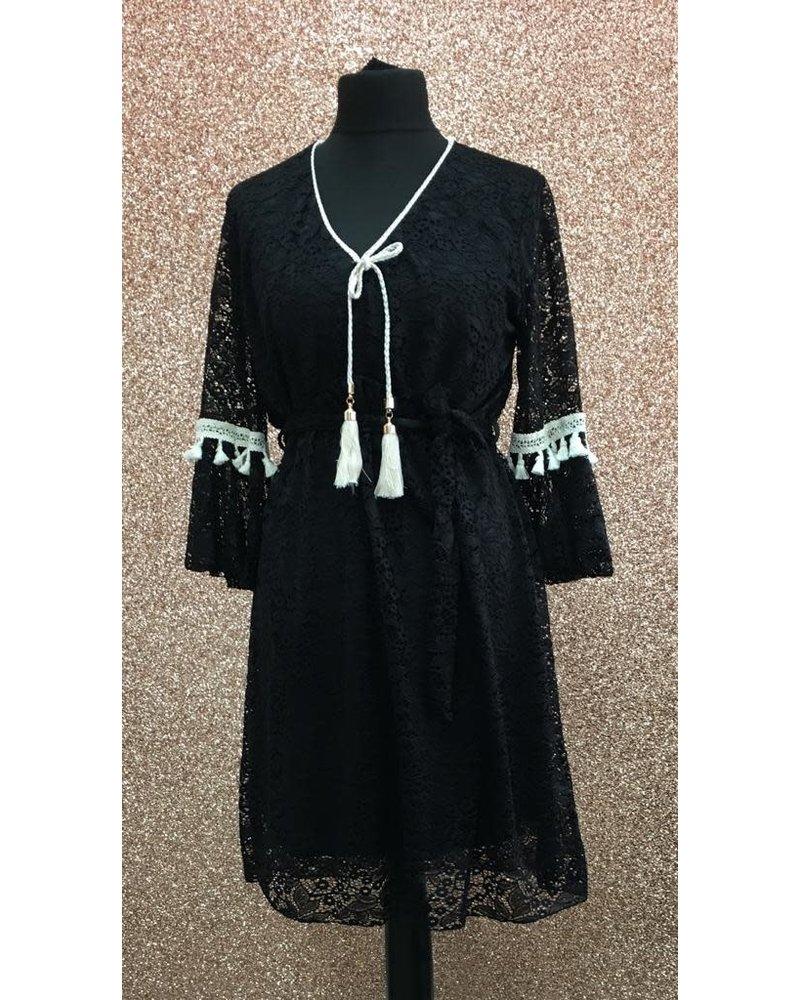 Shelby crochet dress