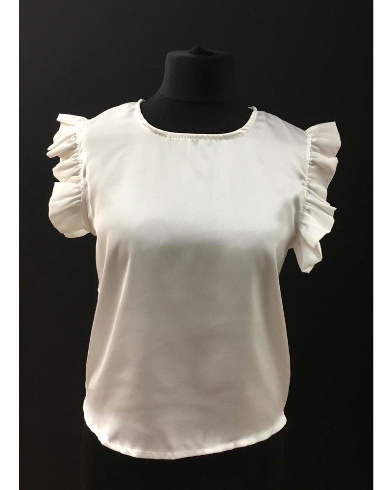 Freya frilled sleeveless top