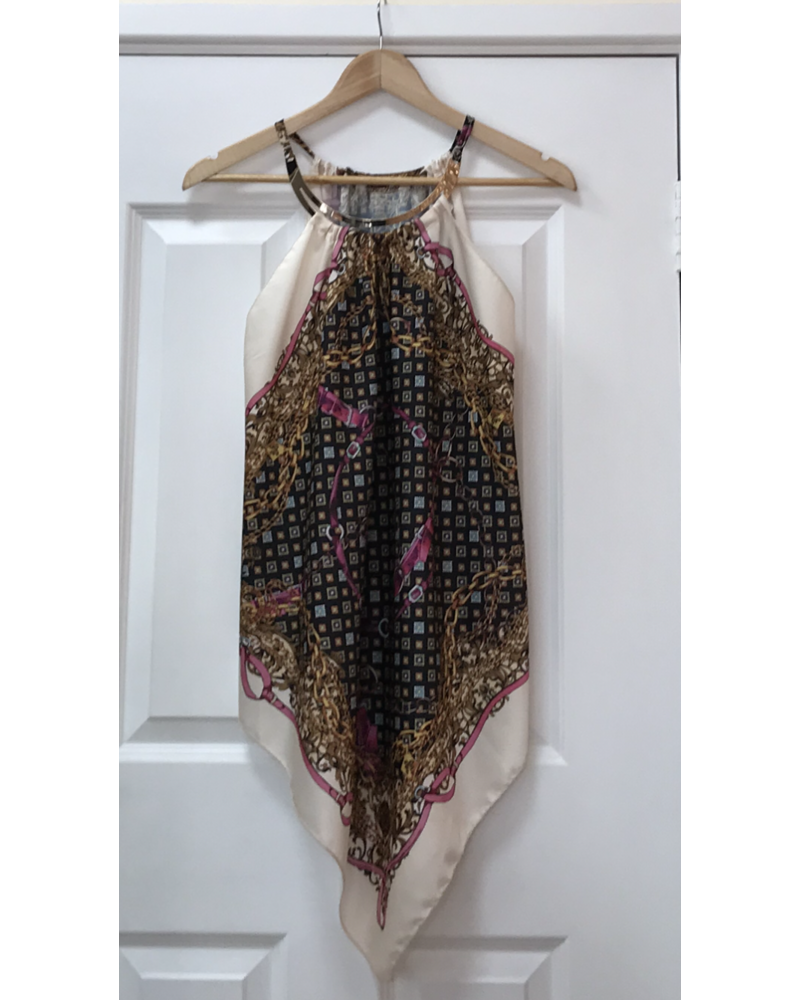 Cleo scarf top