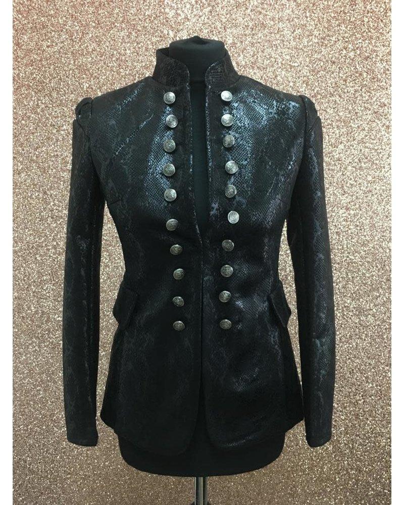 Millie Millitary snakeskin Jacket