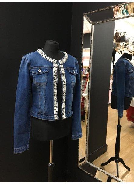 Vogue Pearl & Diamanté Denim Jackets