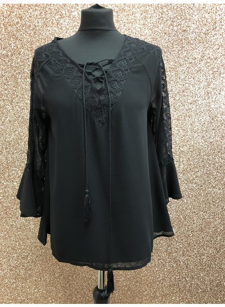 Tilly tie up Blouse