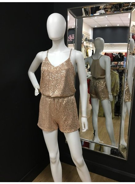 Sequin cami & shorts set